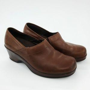 Eastland | Constance Leather Slip On Clog 8.5
